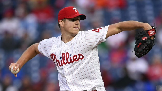Red Sox acquisition Nick Pivetta was thought to be a future rotation piece with the Phillies.
