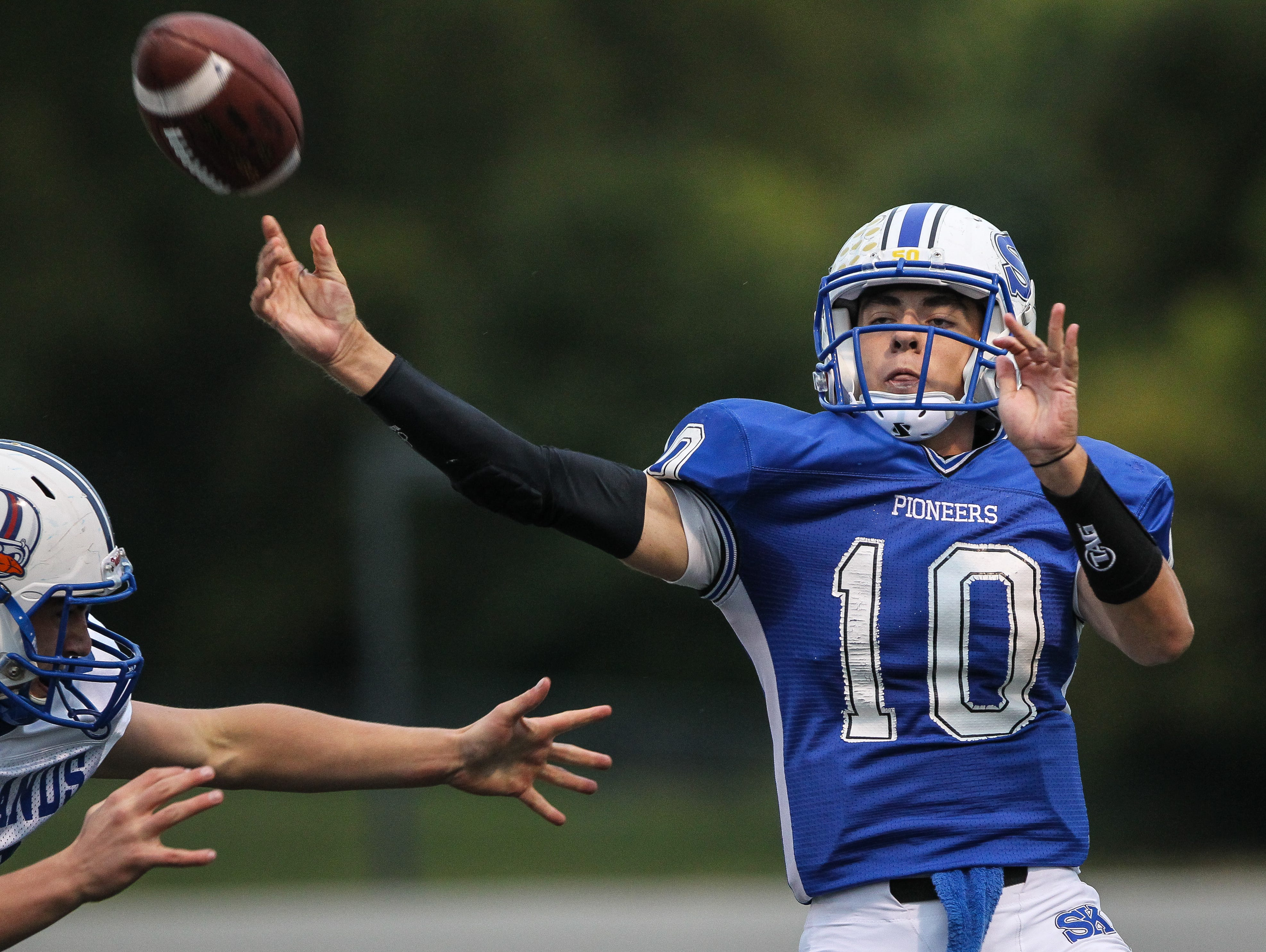 Cameron Racke and his Simon Kenton teammates are ranked No. 4 in the latest 6A state poll.