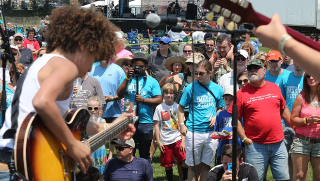 Up-and-coming local performers have the chance to perform at this year's Pleasantville Music Festival through its battle of the bands.