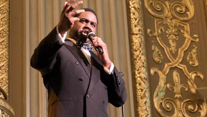 """The voice: Tenor Rod Dixon stars in the Orpheum production, """"Too Hot to Handel."""""""