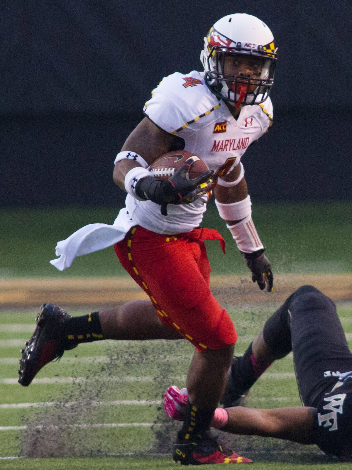 Maryland cornerback and returner Will Likely