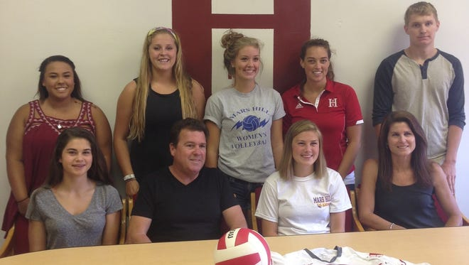 Recent Hendersonville graduate Robbi Clark has signed to play college volleyball for Mars Hill.