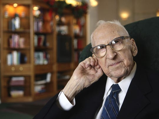 Walter Breuning, who was once the oldest living person