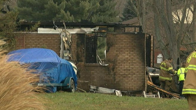 A home near Lake Lorelei was destroyed in an overnight fire.