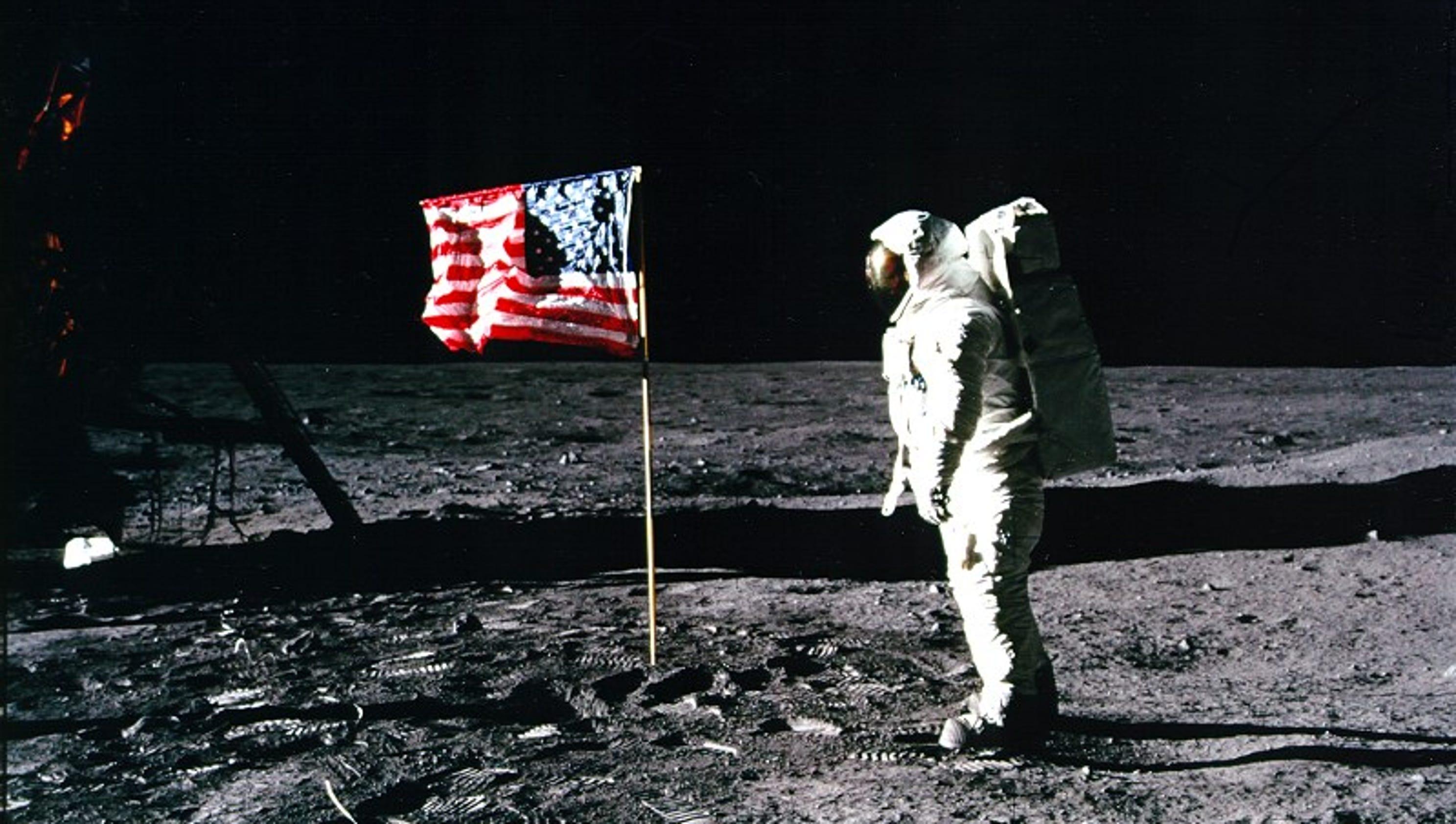 The Apollo 11 moon landing anniversary