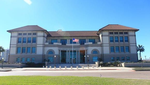 Federal courthouse in Corpus Christi.
