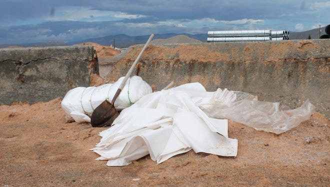 With monsoon season on the way out, the Alamogordo Fire Department has picked up and put into storage the sandbags previously available at fire stations. They are still available to residents, however.