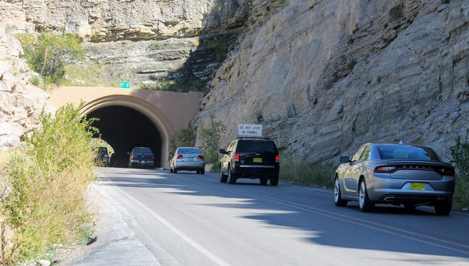 Work on the U.S. Highway 82 tunnel is completed. Construction crews completed the work Thursday.