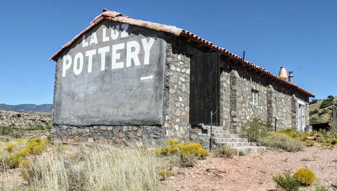 The La Luz Pottery Factory is nestled in the Laborcita and Fresnal canyons in the foothills of the Sacramento Mountains and is considered one of Otero County's most important historic sites.