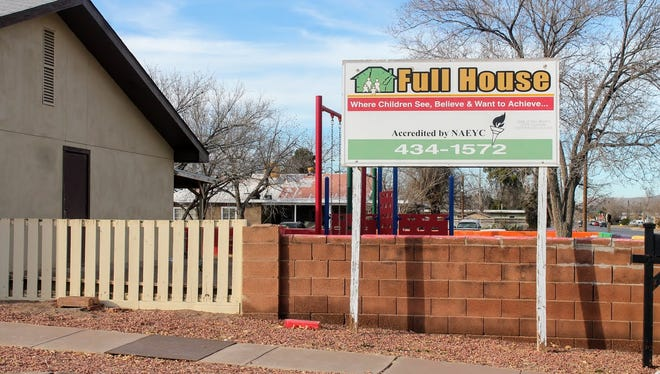 Full House, 1815 N. Florida Ave., one of the daycare centers run by CHINS, is hoping to raise money to be renovated. The first ever CHINS fun run will be held March 24.