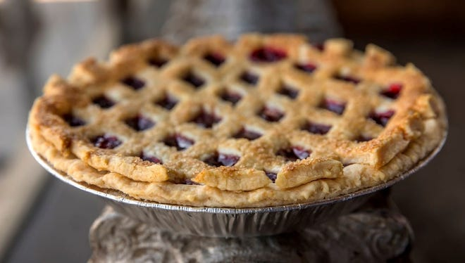 Buttermilk Sky Pie's cherry pie is one of the shop's seasonal flavors.