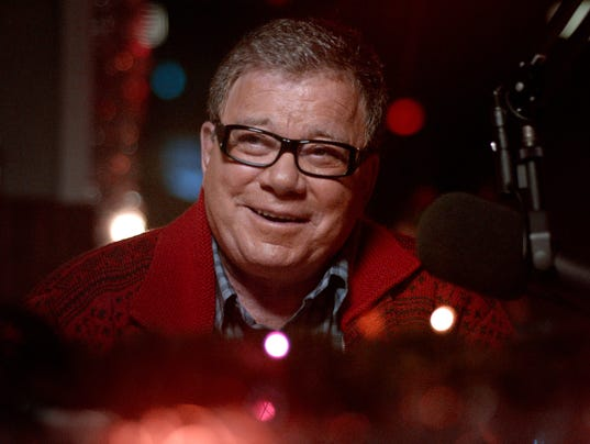 william shatner is dangerous in christmas horror