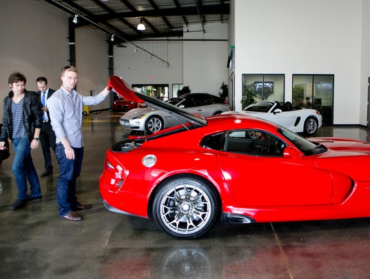 Ferrari, anyone?: Rental chain expands its exotics