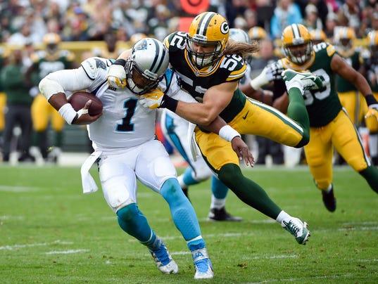 Green Bay Packers linebacker Clay Matthews
