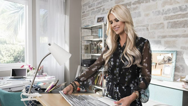 "Christina El Moussa, star of HGTV's ""Flip or Flop"" is getting her own design show."