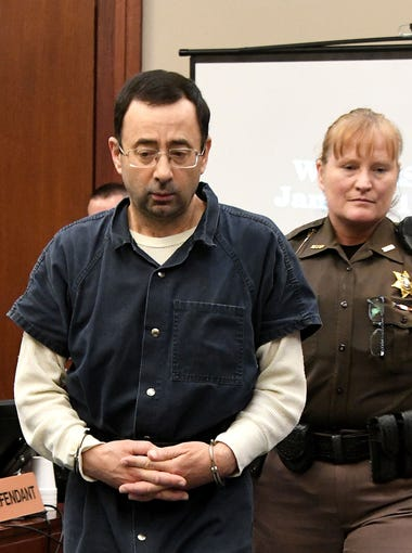 Larry Nassar's pattern of sexual abuse spanned at least two decades, from his days as a Michigan State medical school student to his career as a high-profile sports medicine doctor for MSU and USA Gymnastics. Browse ahead for a look at key figures in his chronology of abuse, reports that went ignored, and finally his conviction.