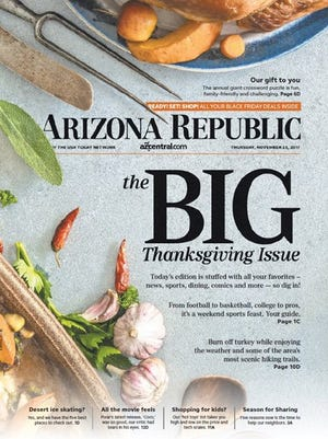 The largest Republic newspaper of the year is hitting newsstands early.