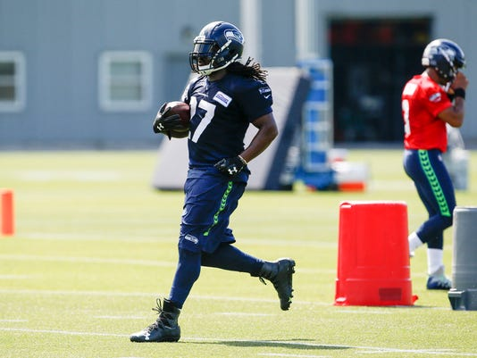 NFL: Seattle Seahawks-Training Camp