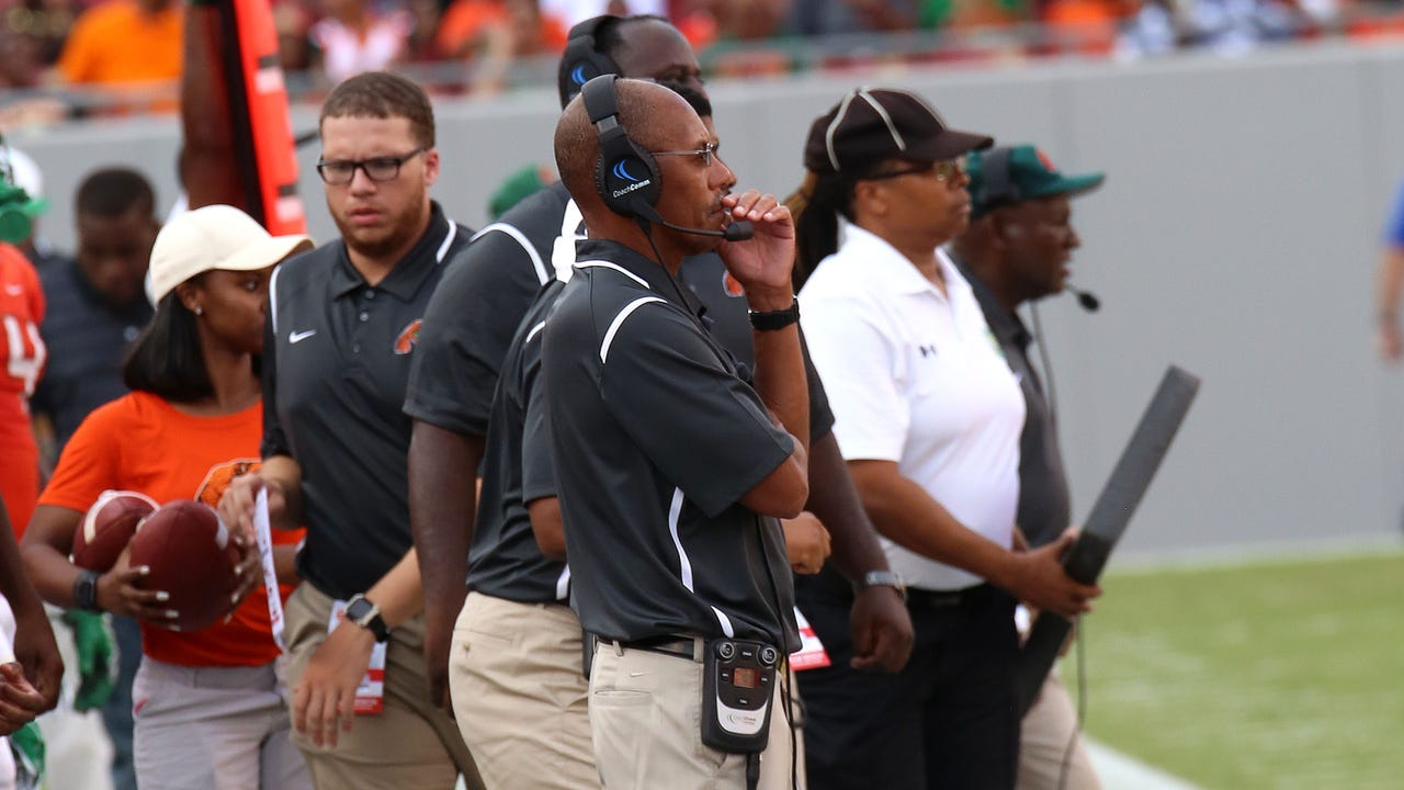 Watch it: FAMU head coach Alex wood recaps loss to Tennessee State