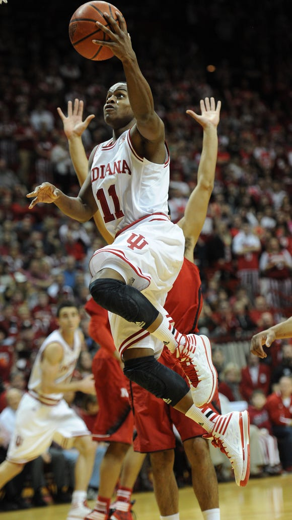 An offense retooled around Yogi Ferrell (11) has Indiana humming at that end of the floor, through 12 games.