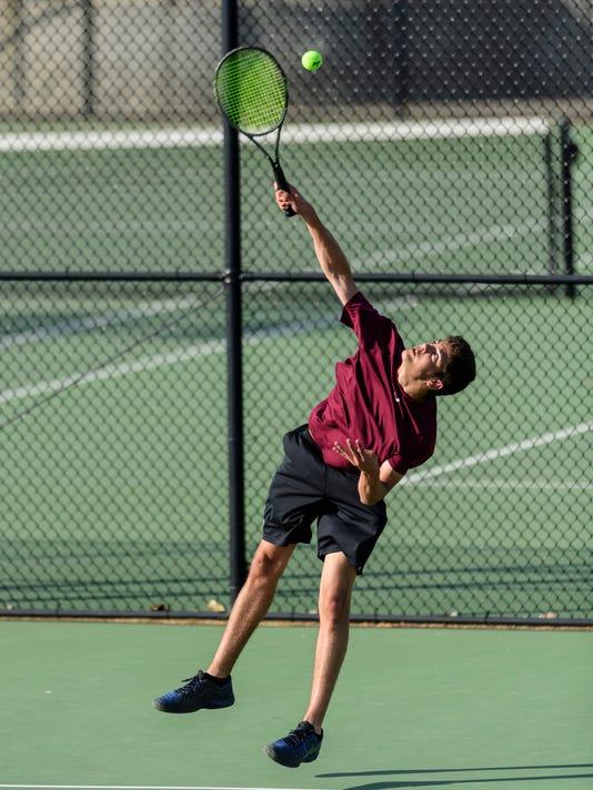11 Second Region Tennis