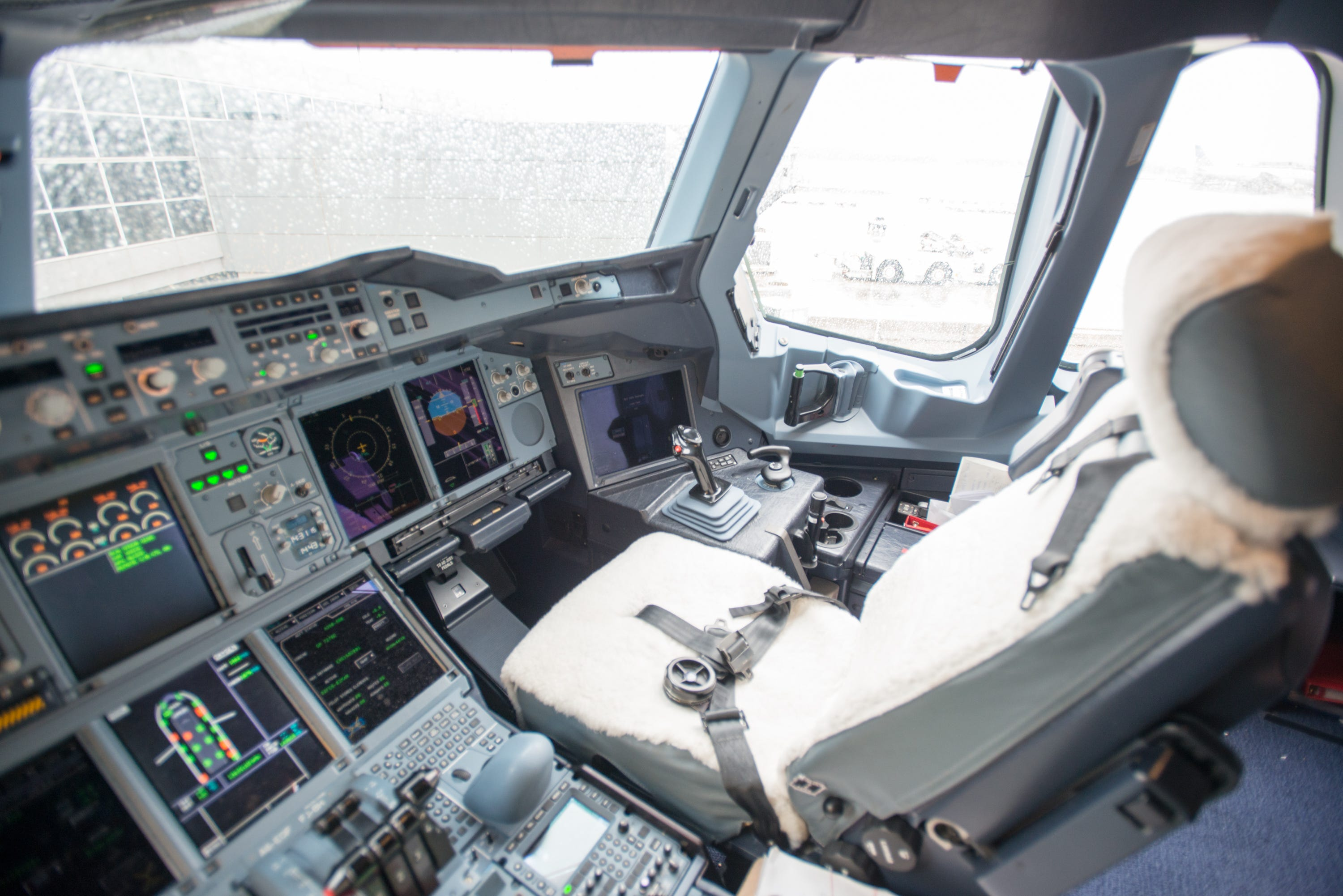 A video from the cockpit appeared on the web that passengers should not have seen
