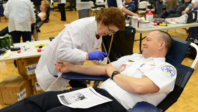 Blood drives have been scheduled throughout the area over the next week to keep supplies from dwindling.