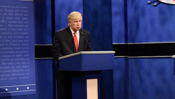 Alec Baldwin as President-elect Donald Trump.
