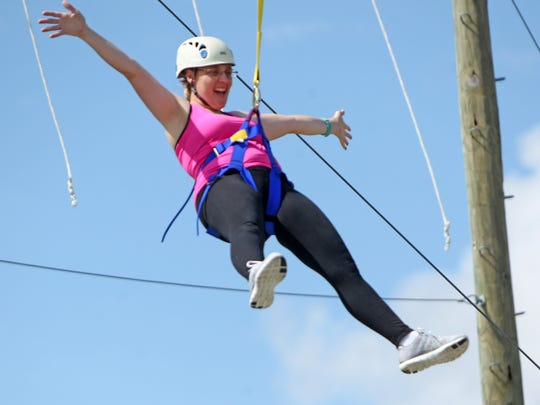 For those women unafraid of heights, Camp Aranzazu