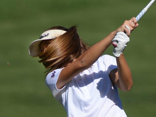 Freshman Marisa D'Amore joins an already talented Westlake High girls golf team.