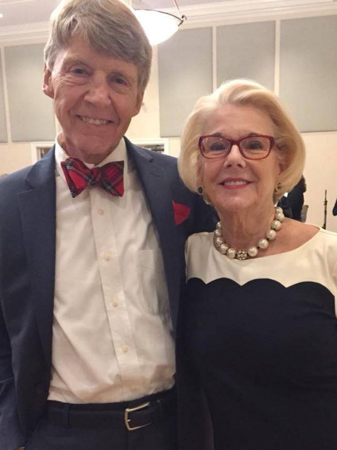 Gerald Ensley and wife Sally Karioth