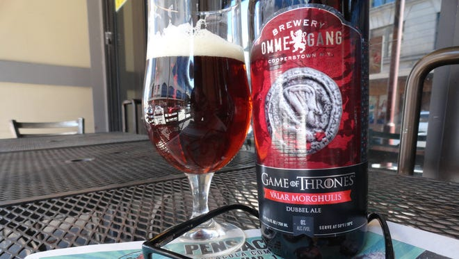 """Brewery Ommegang """"Game of Thrones"""" Valar Morghulis."""
