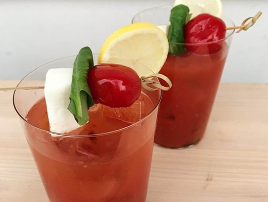 Jersey-tomato Bloody Mary