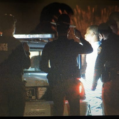 Radee L. Prince, 37, of Belvedere is taken into custody