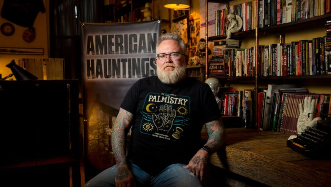 Troy Taylor specializes in writing books, and hosting tours and events about hauntings. He will share his knowledge of Springfield's haunted history during a Zoom event hosted by Lincoln Library Monday, Oct. 26, 2020.