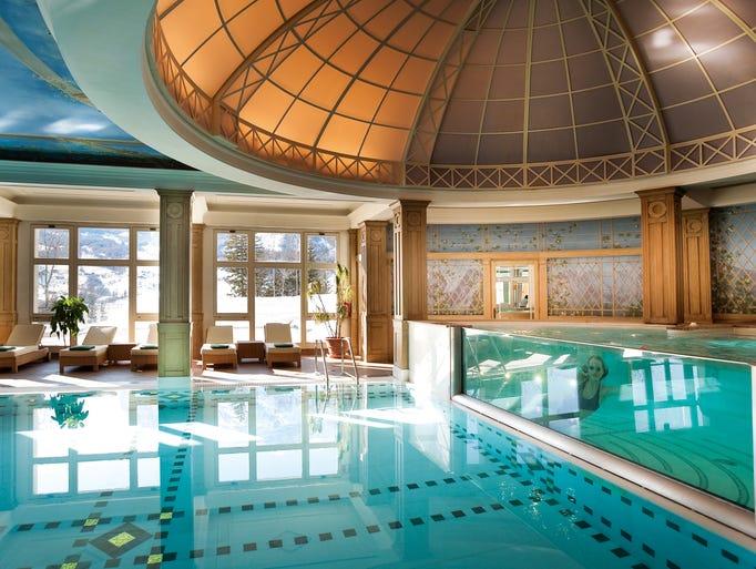 50 beautiful indoor hotel pools for Chlorine free swimming pool london