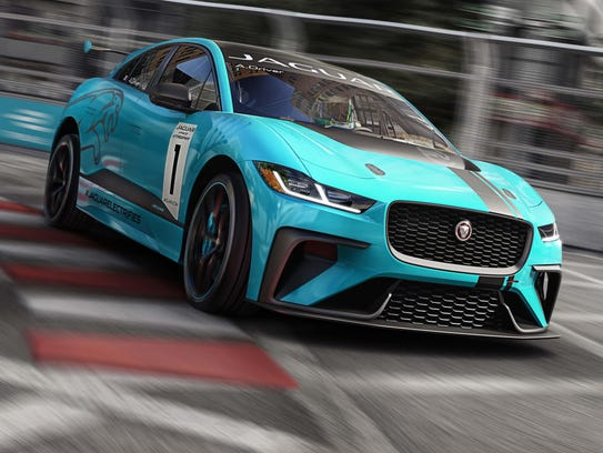 Jaguar will introduce an all-electric I-PACE racing