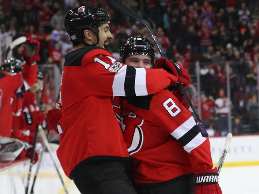 USP NHL: VANCOUVER CANUCKS AT NEW JERSEY DEVILS S HKN NJD VAN USA NJ