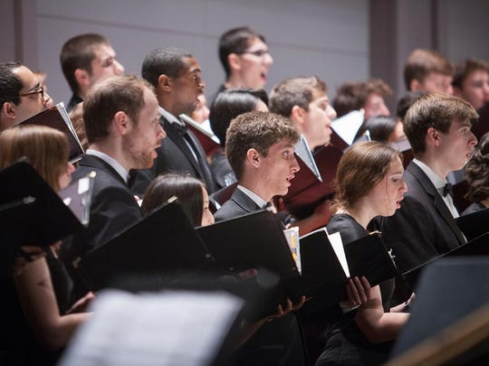 The Cornell University Glee Club and Chorus will perform Saturday.