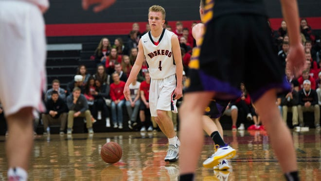 Muskego's A.J. Makinen is the player of the week.
