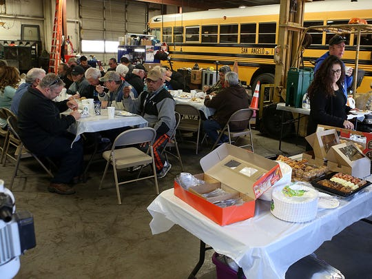 A breakfast was held in honor of San Angelo ISD's bus drivers and transportation department Wednesday, April 4, 2018.
