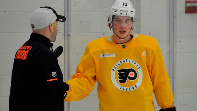 Nolan Patrick hasn't played since suffering a head injury on Oct. 24.