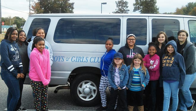 Some members of the Boys & Girls Club of Vineland's S.M.A.R.T. Girls, in cooperation with Girls in Transition, visited the Cumberland County SPCA recently to learn about the organization's departments and about how the adoption process works.