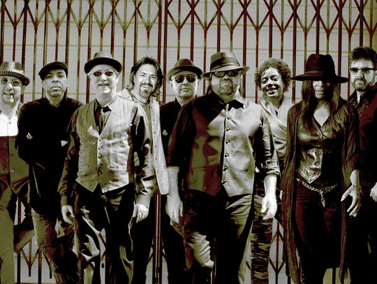Jack Mack & the Heart Attack Horns will play Oct. 26