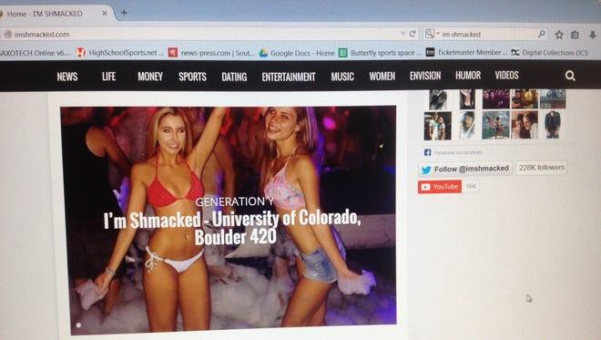 Image from I'm Shmacked website