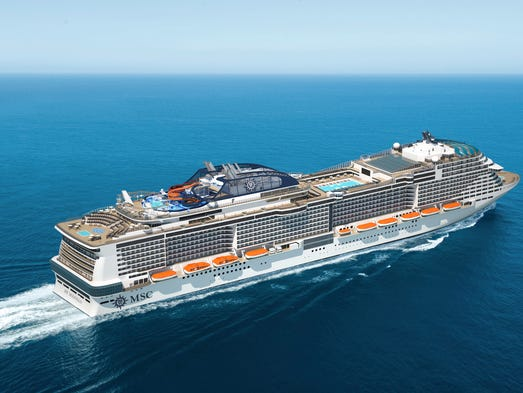 Preview The Hottest New Cruise Ships Of - Biggest cruise ships list