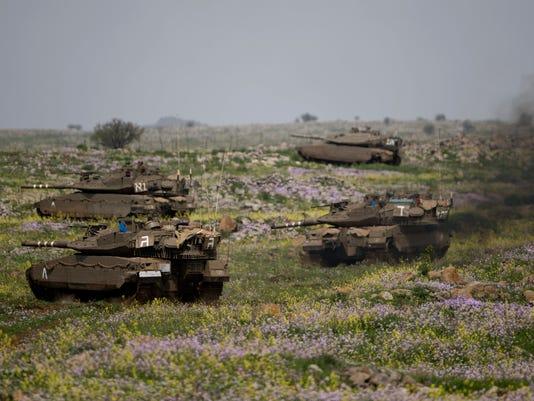 AP MIDEAST ISRAEL SYRIA I ISR