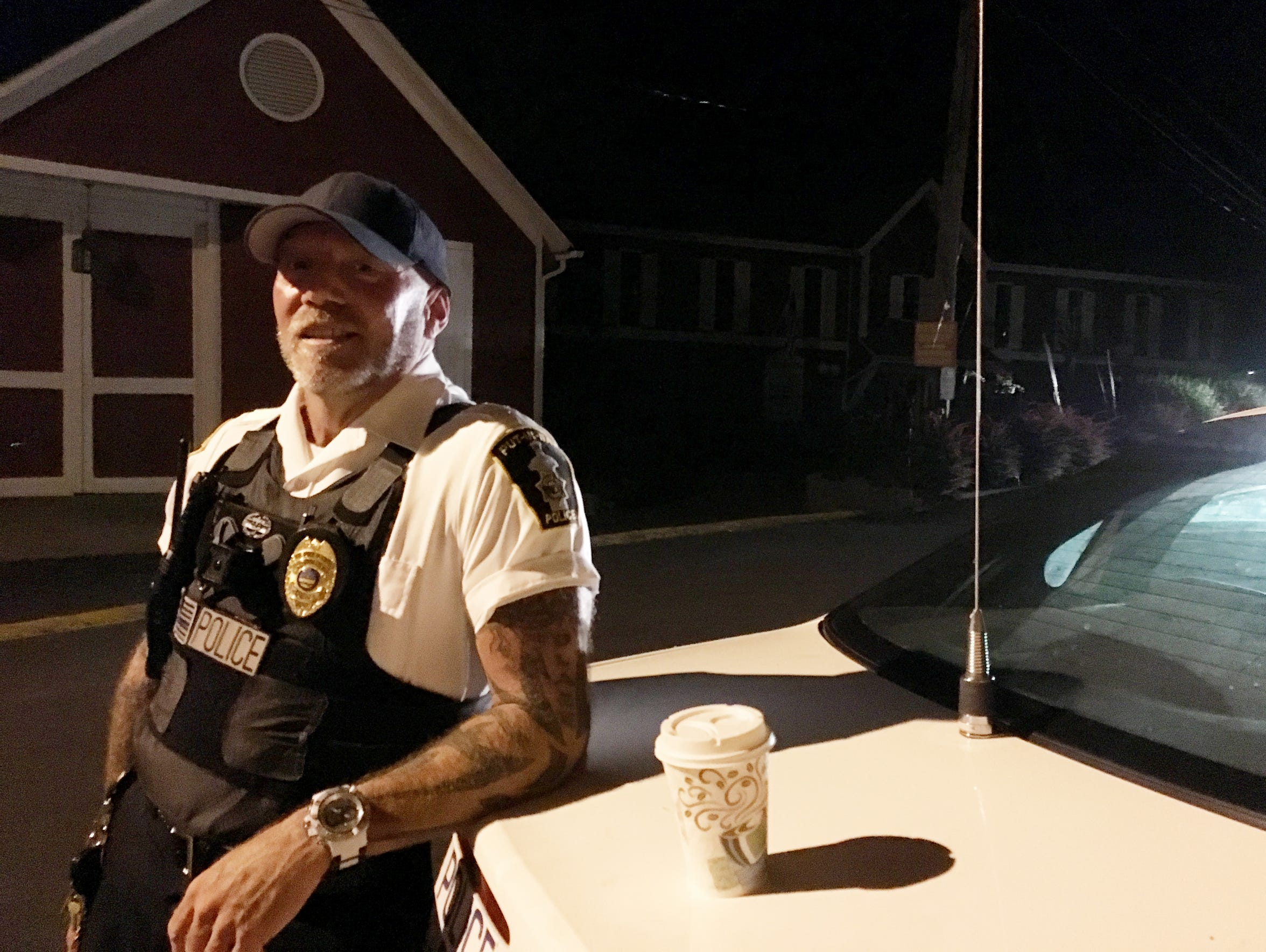 Lt. Doug Miller, a supervisor with the Put-in-Bay Police