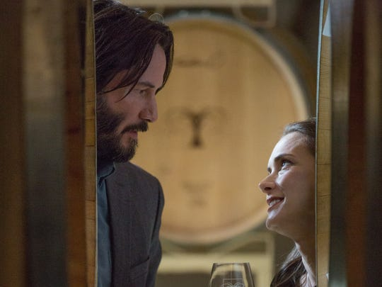 """Keanu Reeves and Winona Ryder star in """"Destination Wedding."""""""