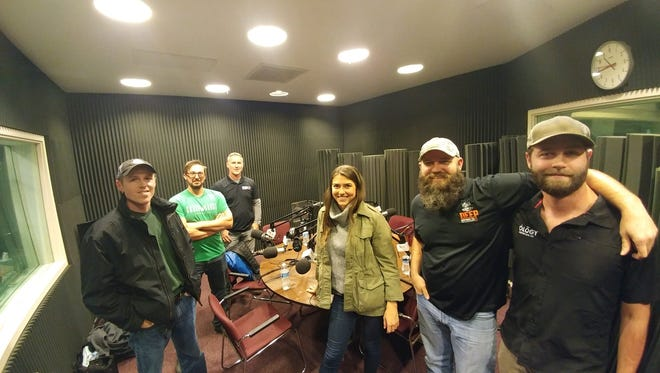 Brewers at five local craft breweries had a get together earlier in January.